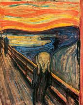 Der Schrei der Natur, 'The Scream of Nature'